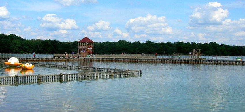 捷克石头湖 Kamencové jezero