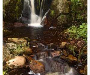 vodopád na Chomutovce