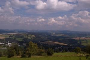 pod Pöhlbergem směrem do Čech