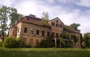 Bývalý zámek ve Vintířově