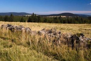 pohled na Fichtelberg, Klínovec, Božidarský Špičák