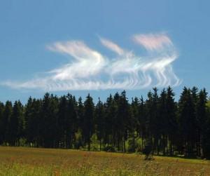 Irizace oblaků