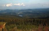 pohled na přehradu Sosa