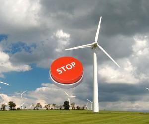 stop větrníkům