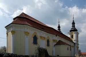 kostel v Libočanech
