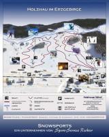 ski areál Holzhau