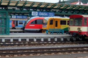 vlakem do Drážďan