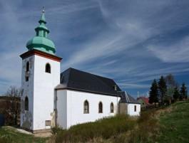 kostel Nová Ves v Horách