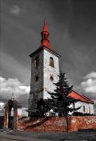 kostel Sušany