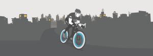 mesto+cyklista