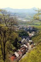 Vyhlídka z Kalvarienbergu